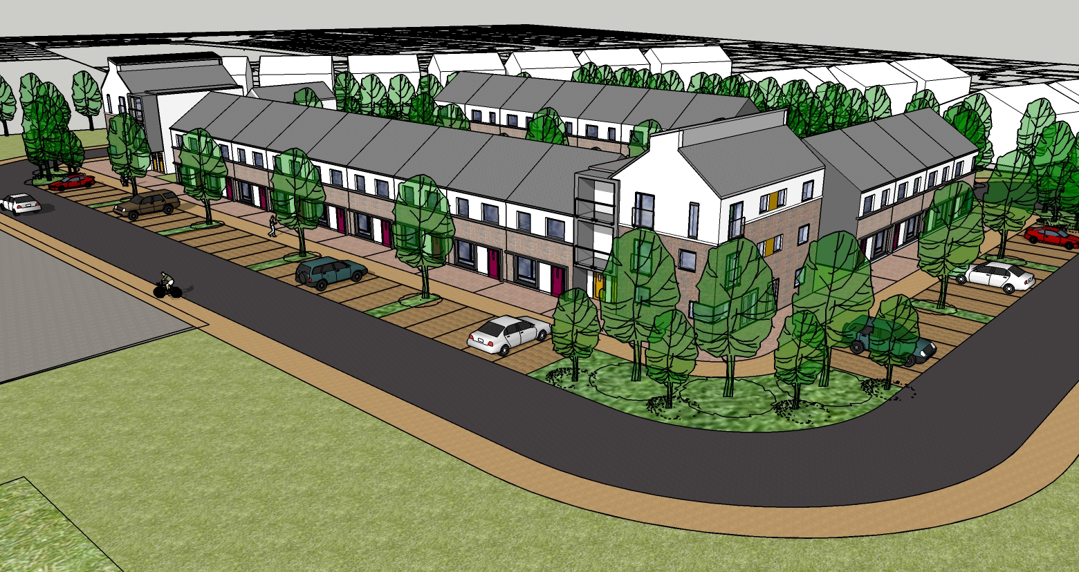 Proposed Social Housing Development comprising of 27 units